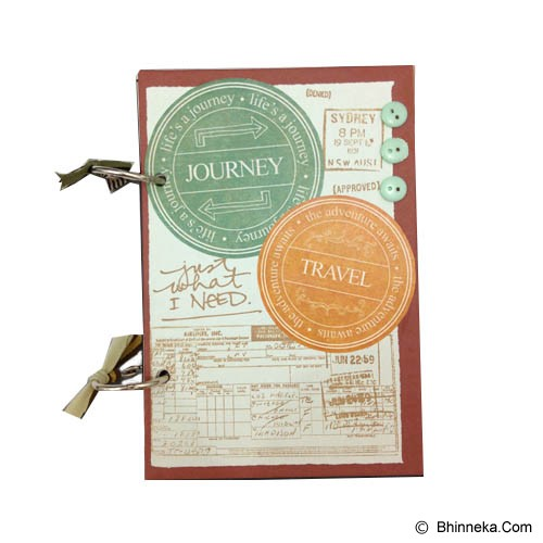 BUKU UNIK Journey & Travel [PCBB-62] - Scrapbook and Patchwork